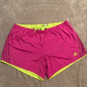 Adidas Supernova Athletic Shorts Size Large